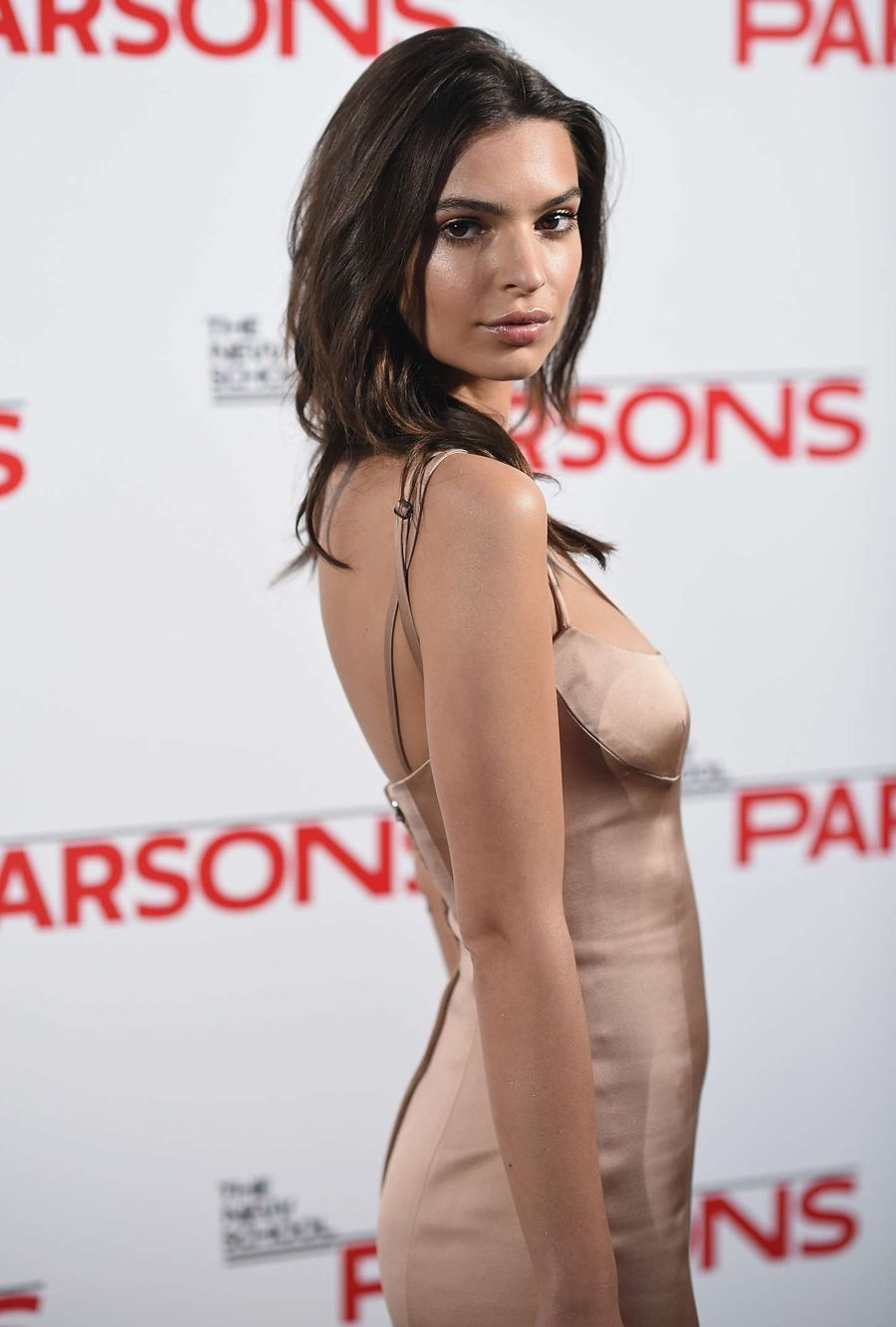 Emily Ratajkowski - Annual Parsons Fashion Benefit
