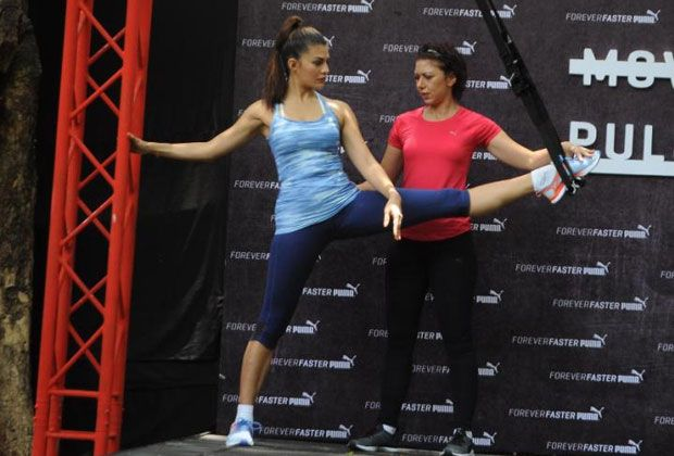 Jacqueline Fernandez Launches 'Puma- Pulse XT' Shoes