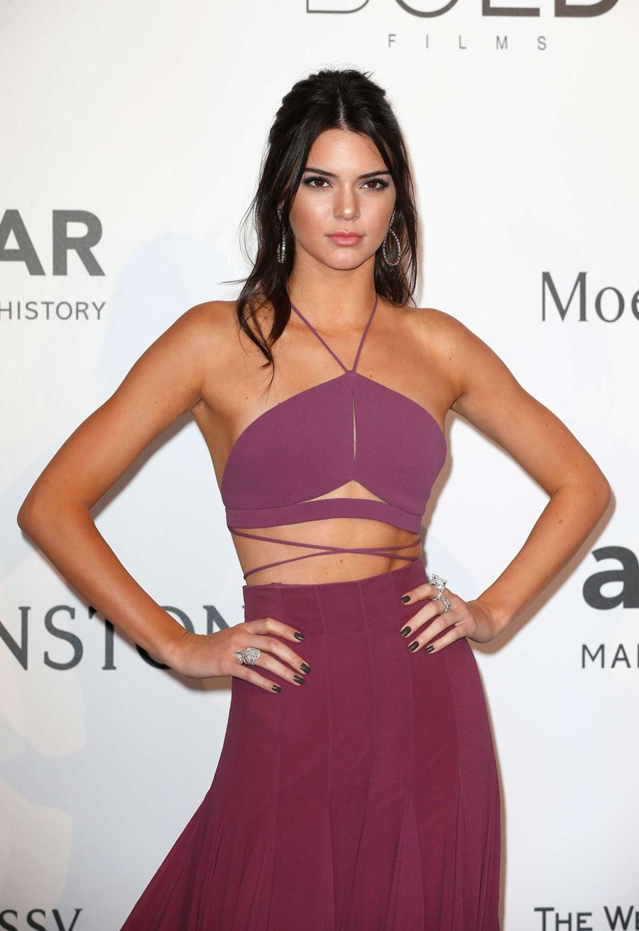 Kendall Jenner is the Belle of Cannes as She Waltzes