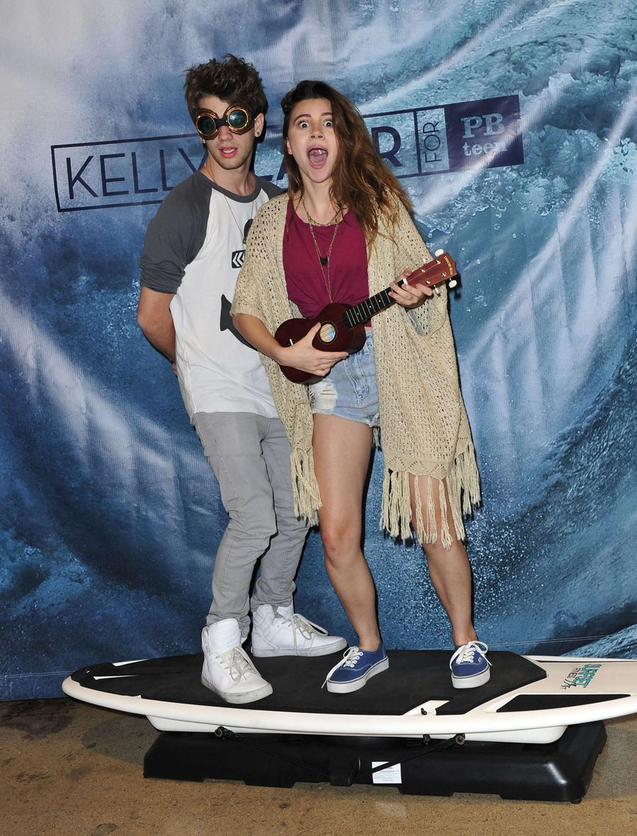 Olivia Stuck - Kelly Slater for PBteen Launch Event