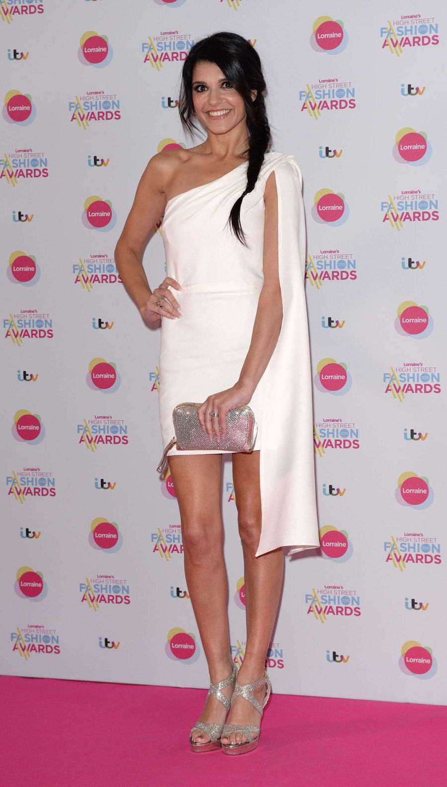 Natalie Anderson Fab at Lorraine's High Street Awards