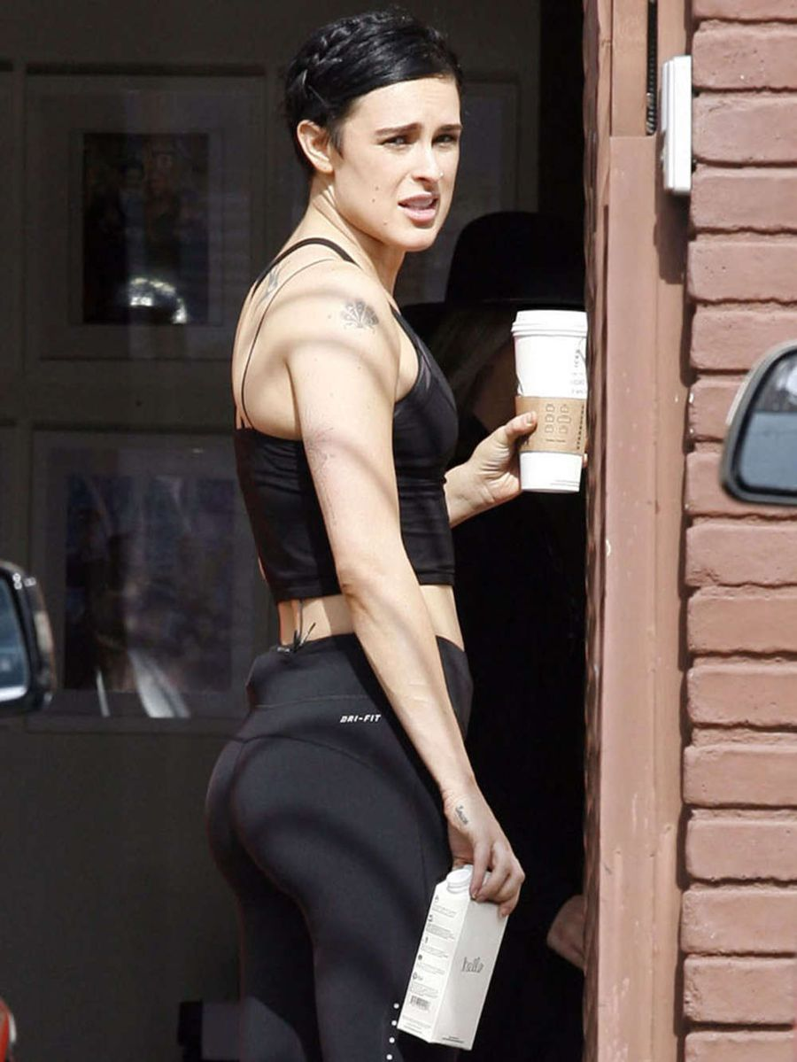 Rumer Willis at DWTS in Hollywood