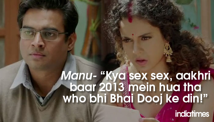 9 Epic Dialogues From Tanu Weds Manu Returns