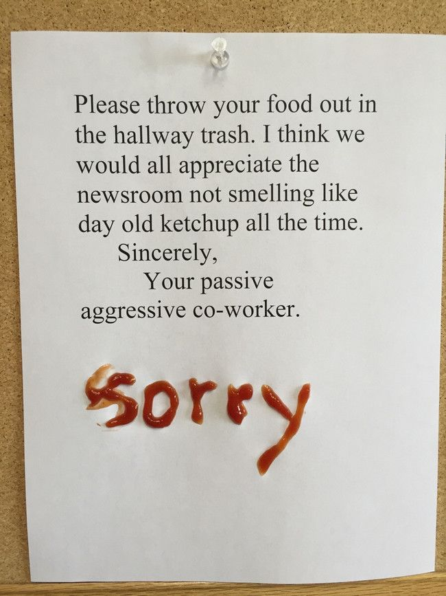 28 Hilarious Notes that are Passive-Aggressive