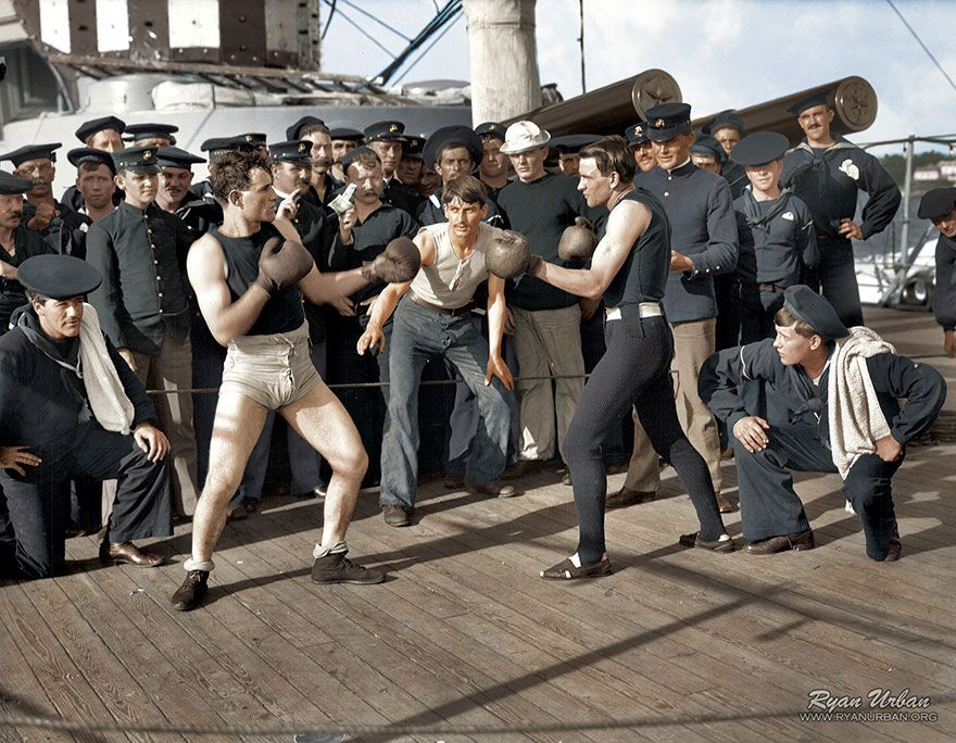 20 Historic B&W Photos Restored In Color