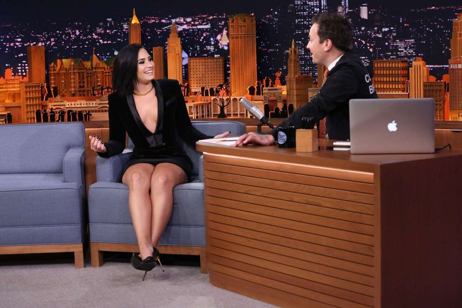 Demi Lovato - The Tonight Show With Jimmy Fallon