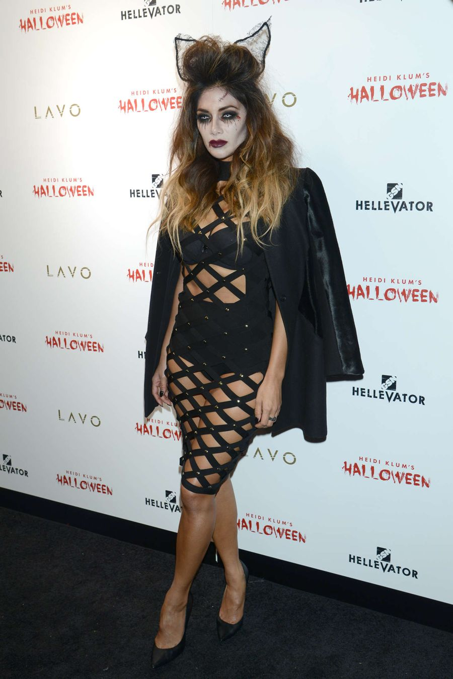 Nicole Scherzinger - Heidi Klum Halloween Party 2015