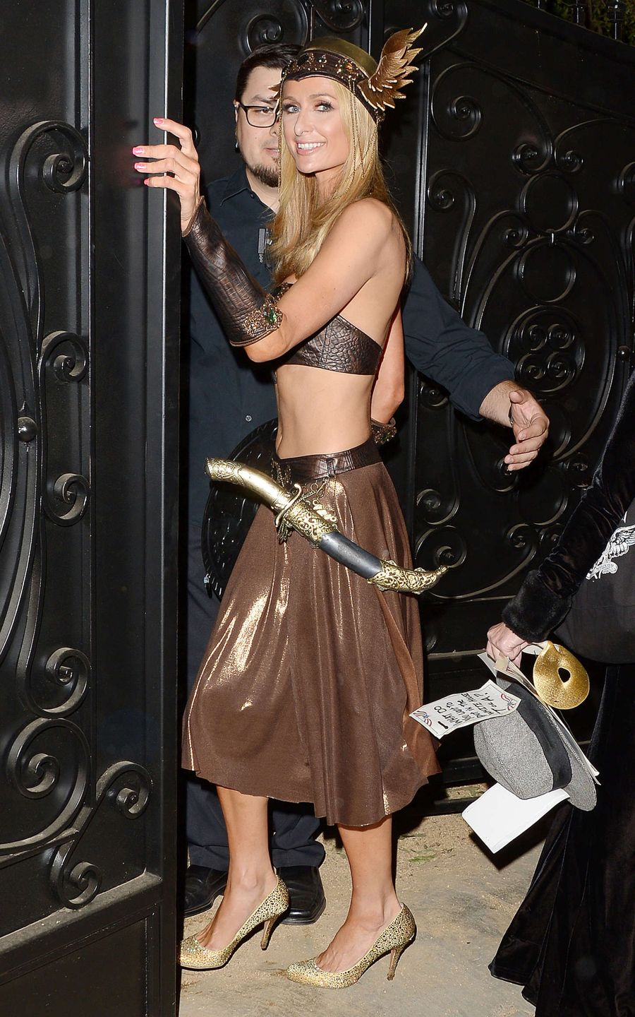Paris Hilton Tequila Halloween Party in Beverly Hills