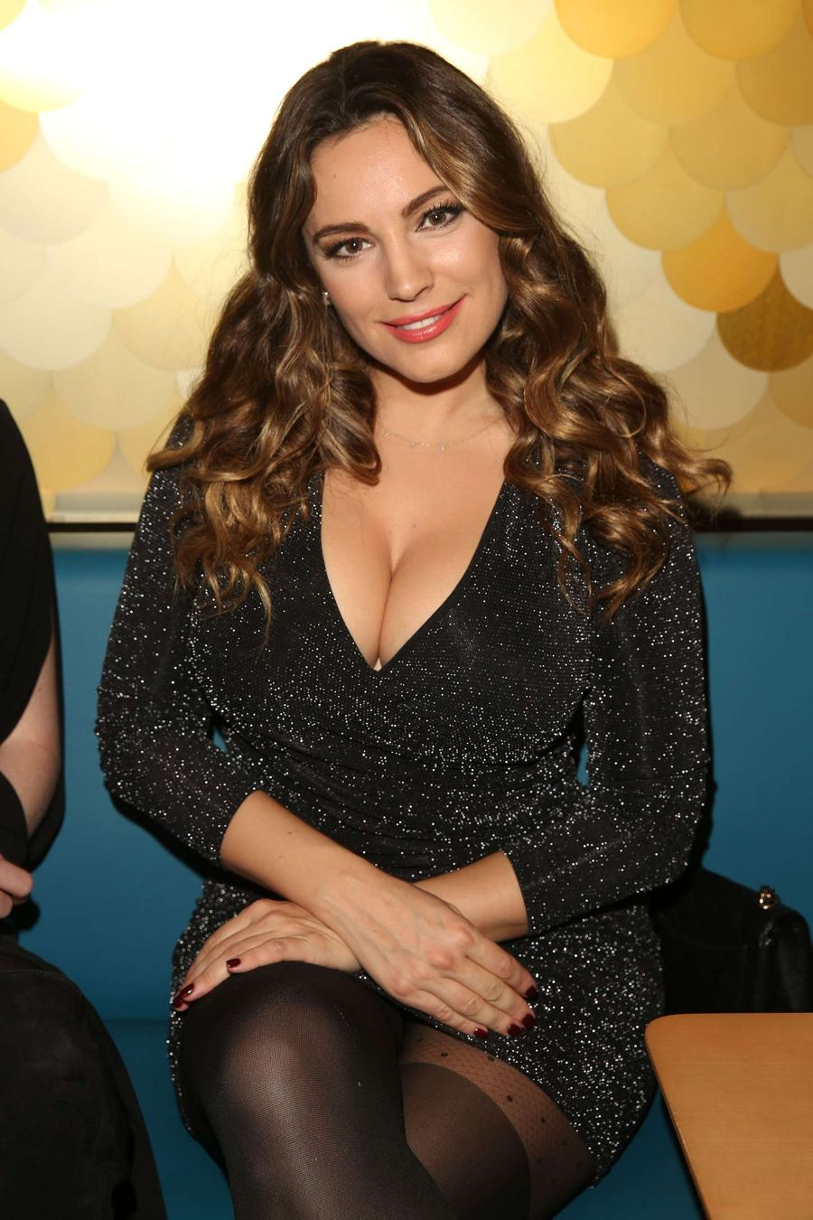 Kelly Brook - Ping Pong Restaurant Launch in London