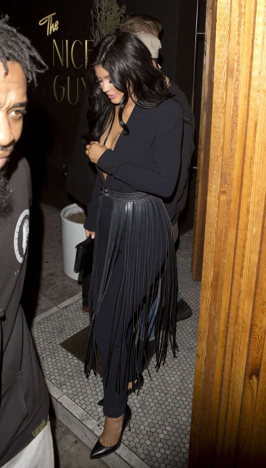 Kylie Jenner at the Nice Guy Club in West Hollywood