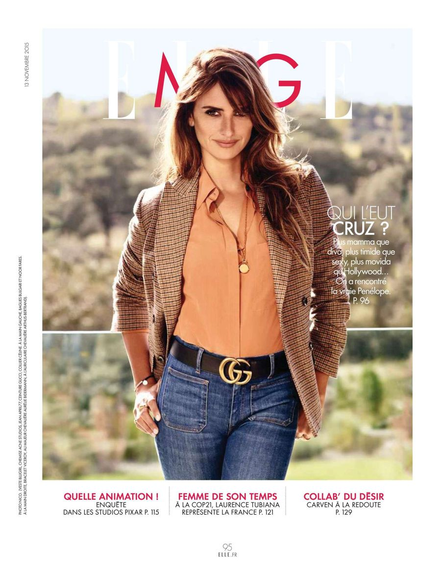 Penelope Cruz - Elle France Magazine (November 2015)