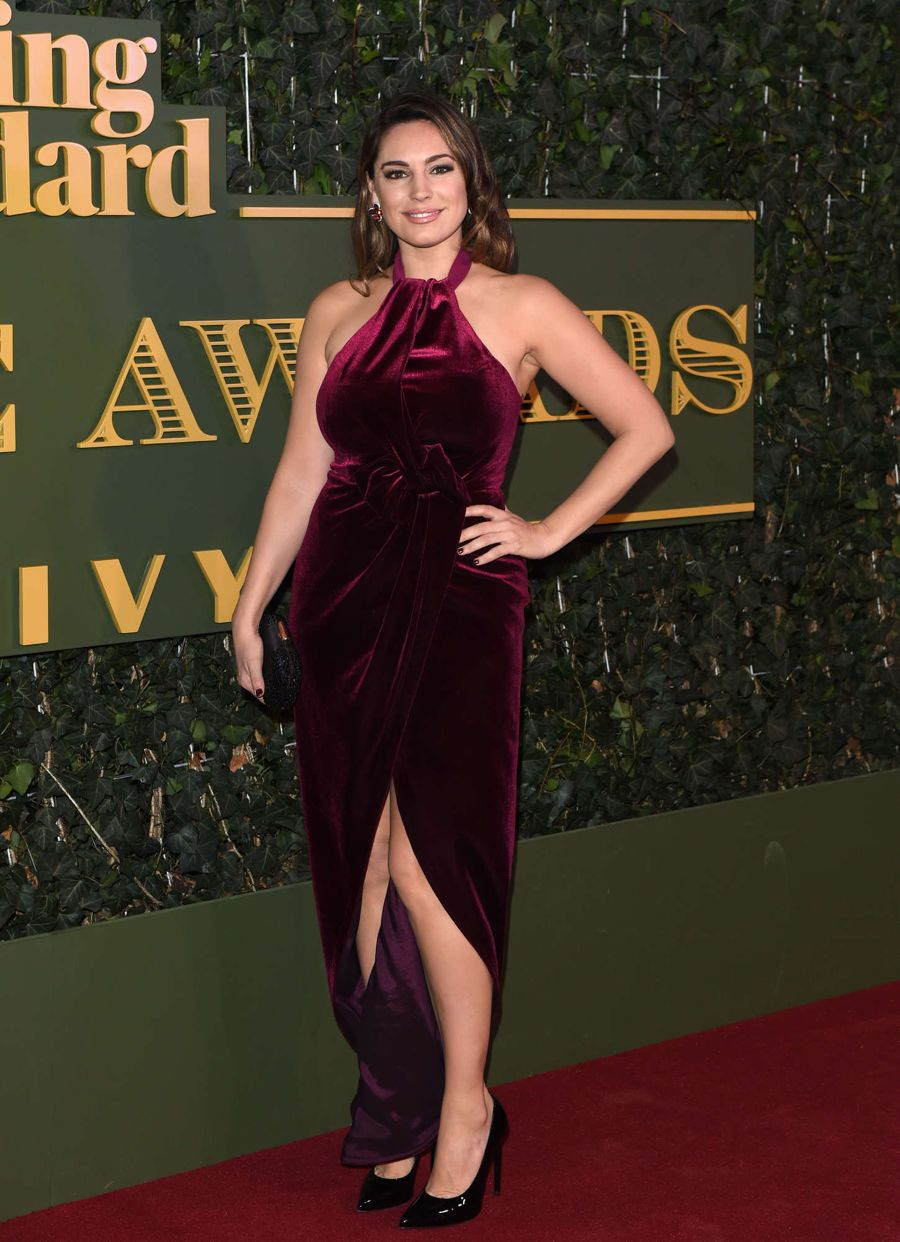 Kelly Brook at Evening Standard Theatre Awards