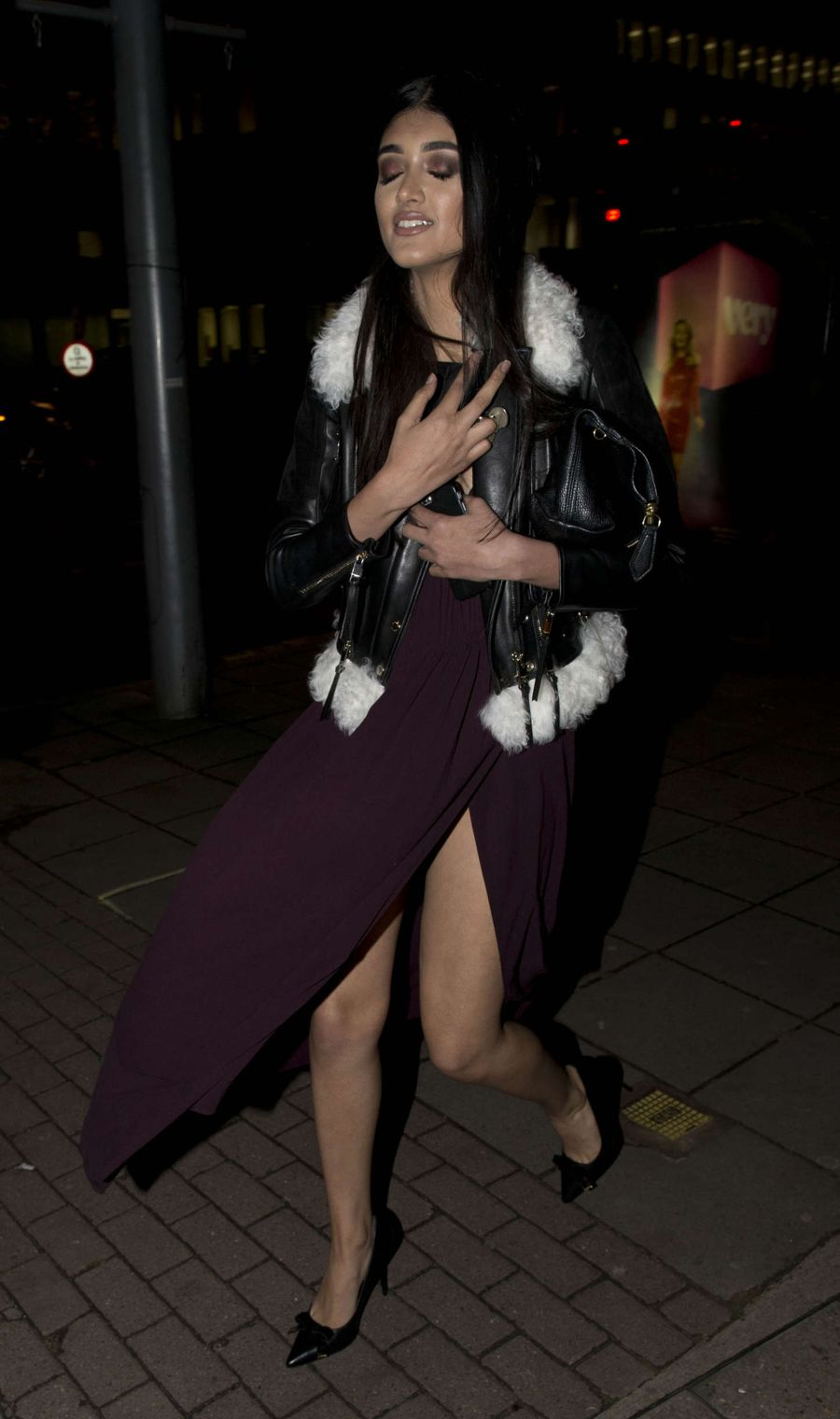 Neelam Gill - Claridge's Christmas Tree Party in London