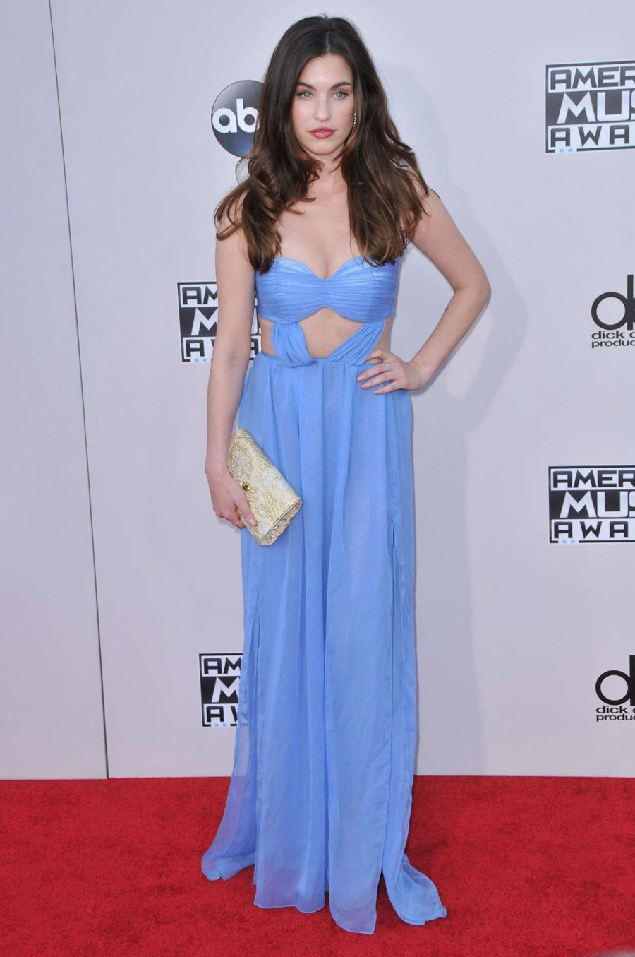 Rainey Qualley - 2015 American Music Awards in L.A.