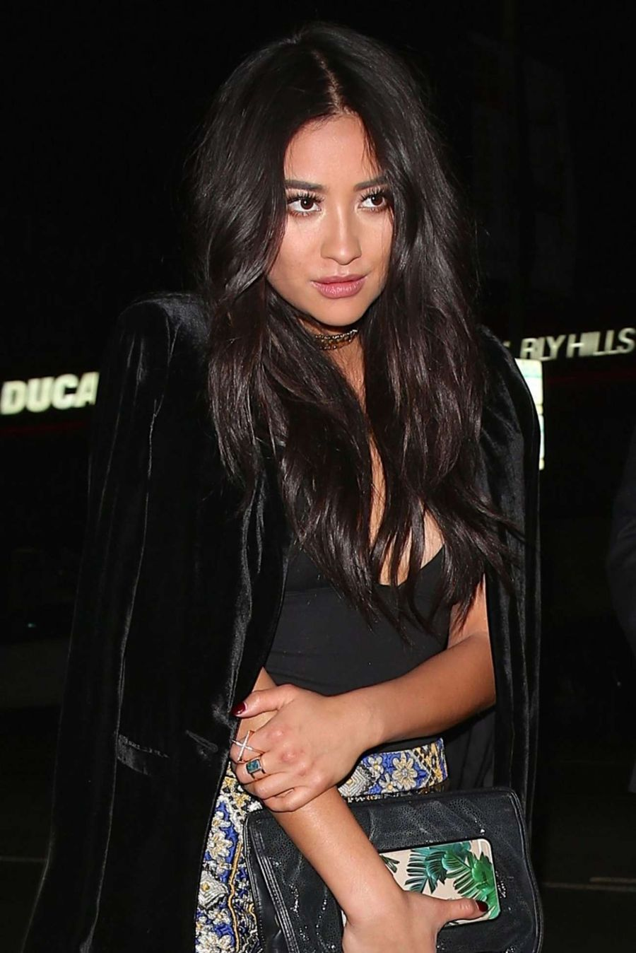 Shay Mitchell at Craig's in West Hollywood