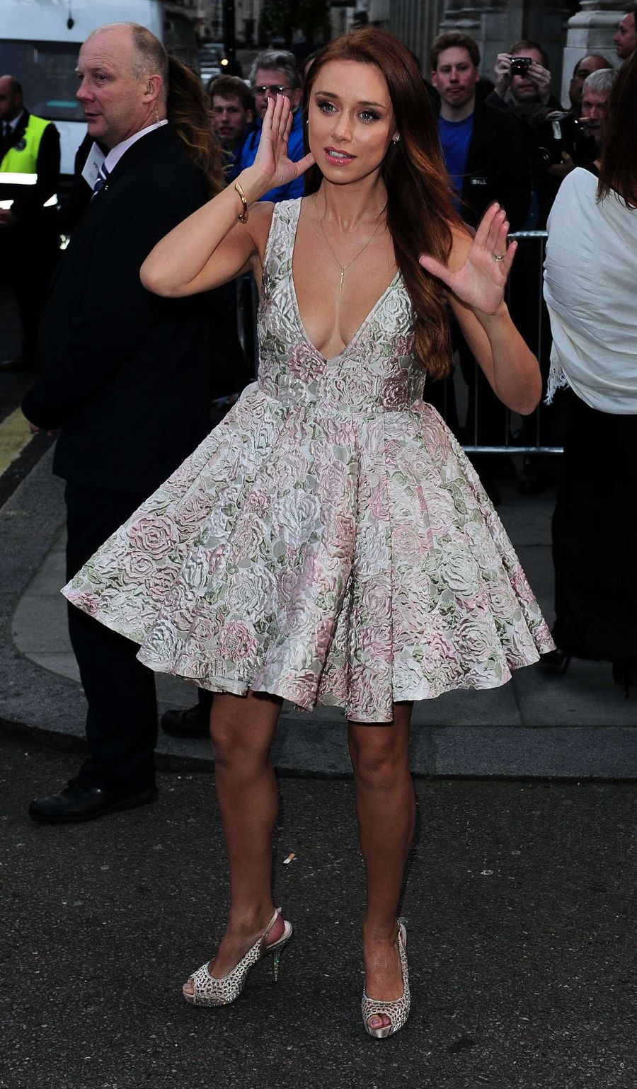 Una Foden - 2015 Pride of Britain Awards in London