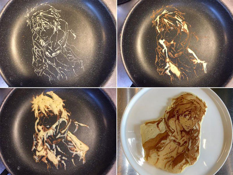 Restaurant in Japan That Makes Amazing Pancake Art