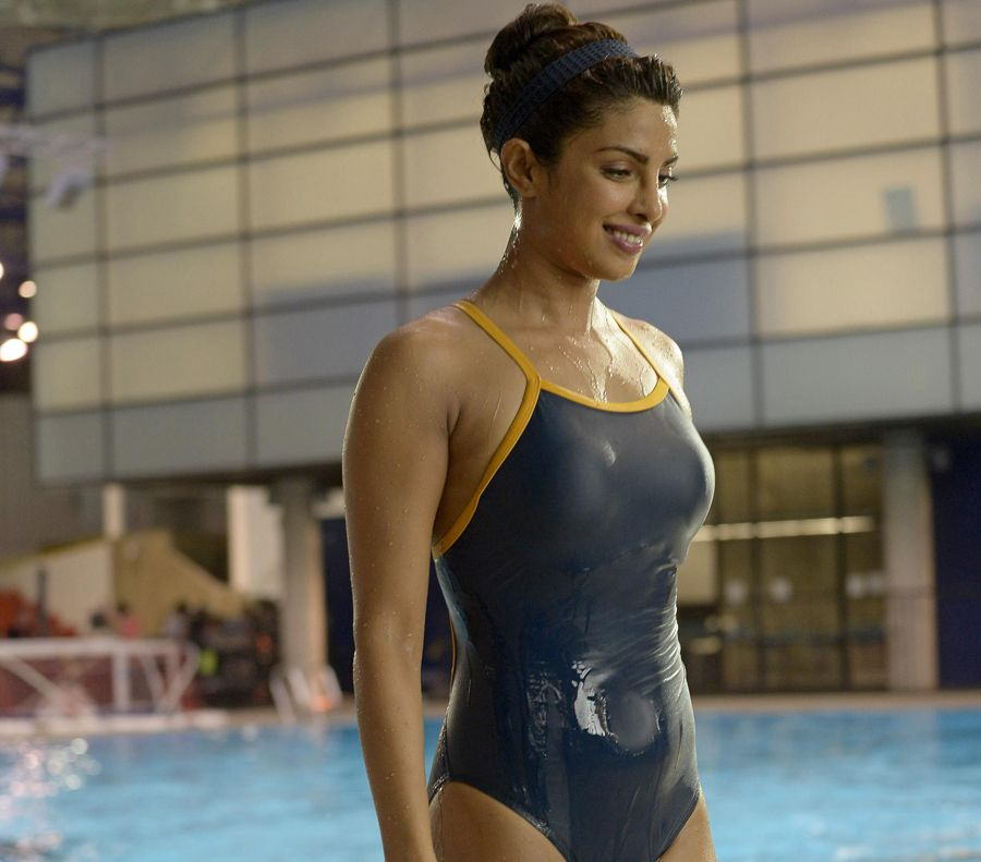 Priyanka Chopra looking lethal in Swimsuit for Quantico