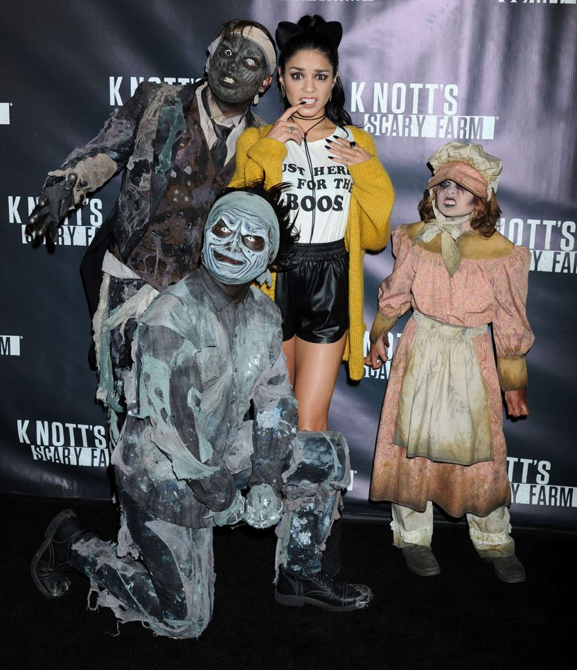 Vanessa Hudgens - Knott's Scary Farm Black Carpet