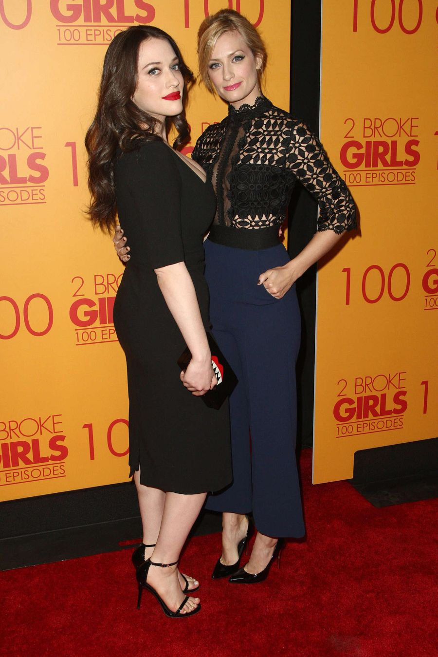 Kat Dennings - '2 Broke Girls' 100th Episode Celebration