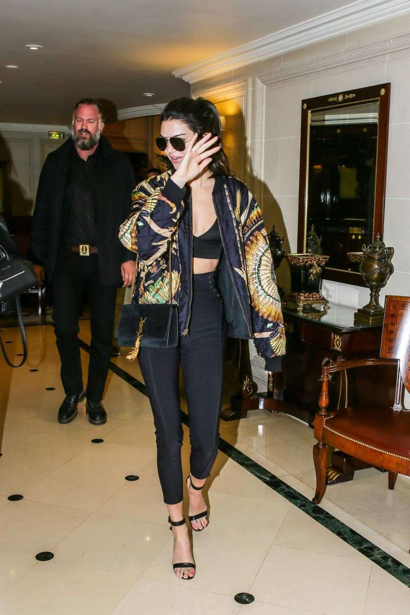 Kendall Jenner - Arrives at Grand Hotel Intercontinental