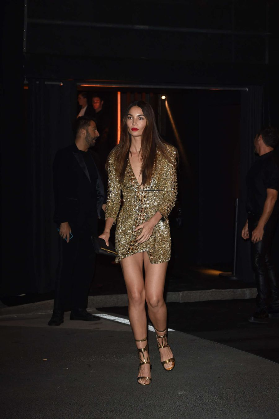 Lily Aldridge - Vogue 95th Anniversary Party in Paris