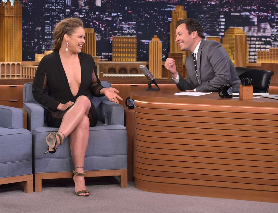 Ronda Rousey - 'The Tonight Show Starring Jimmy Fallon'