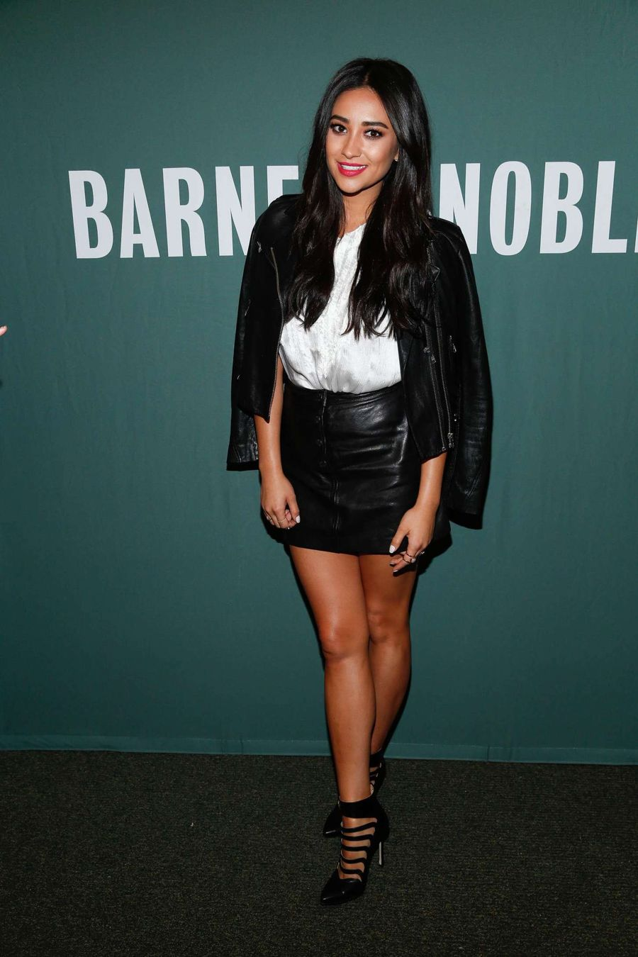 Shay Mitchell Promoting her book at Barnes & Noble