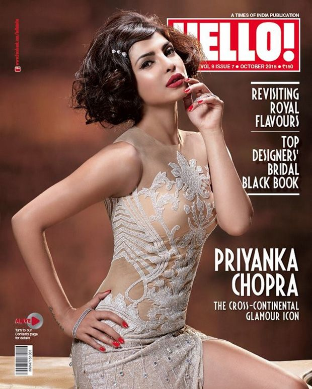 Priyanka Chopra Pics From Hello India Magazine Oct 2015