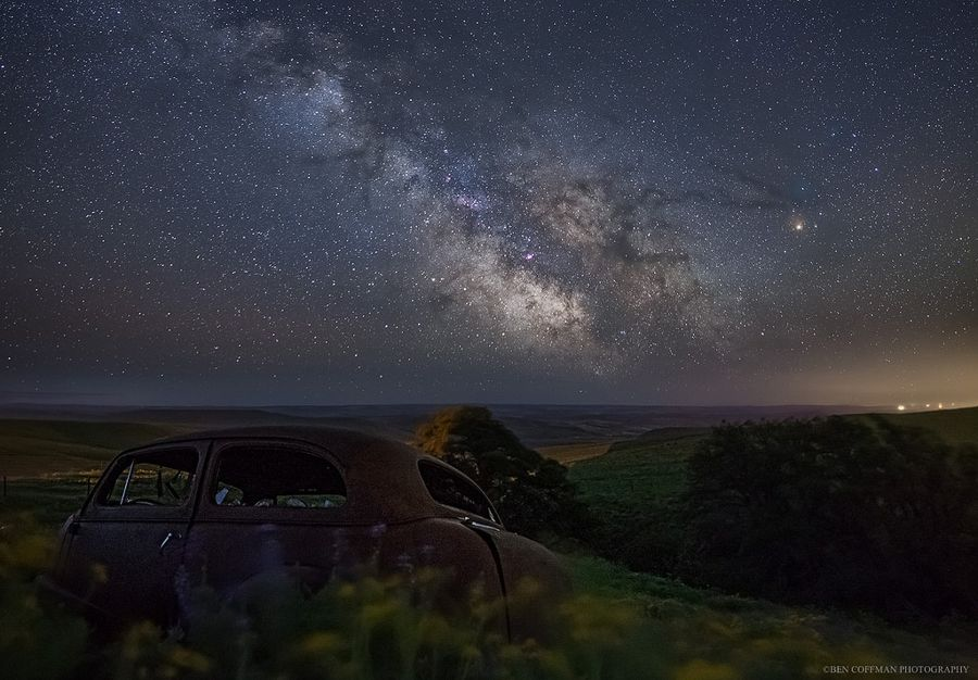 Night with Clear Skies and No Light Pollution