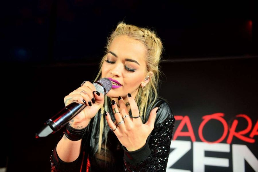 Rita Ora - Tezenis Campaign Launch Party in Frankfurt