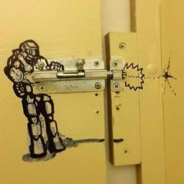 Bathroom Stall Messages That'll Make You Laugh
