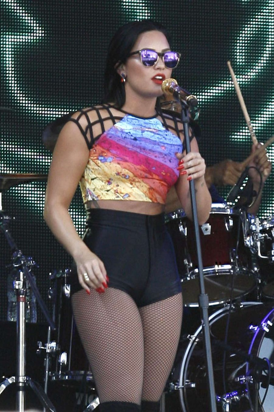 Demi Lovato - Jimmy Kimmel Live in Hollywood