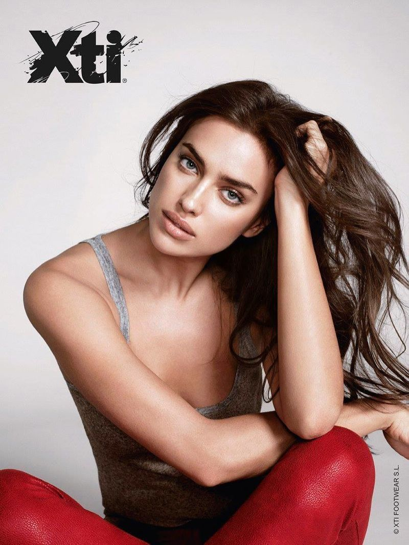 Irina Shayk Shines in XTI Fall 2015 Ad Campaign