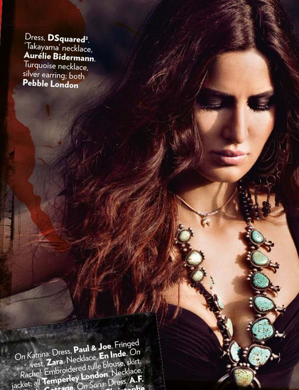 Katrina on Vogue India Cover (Sep 2015)