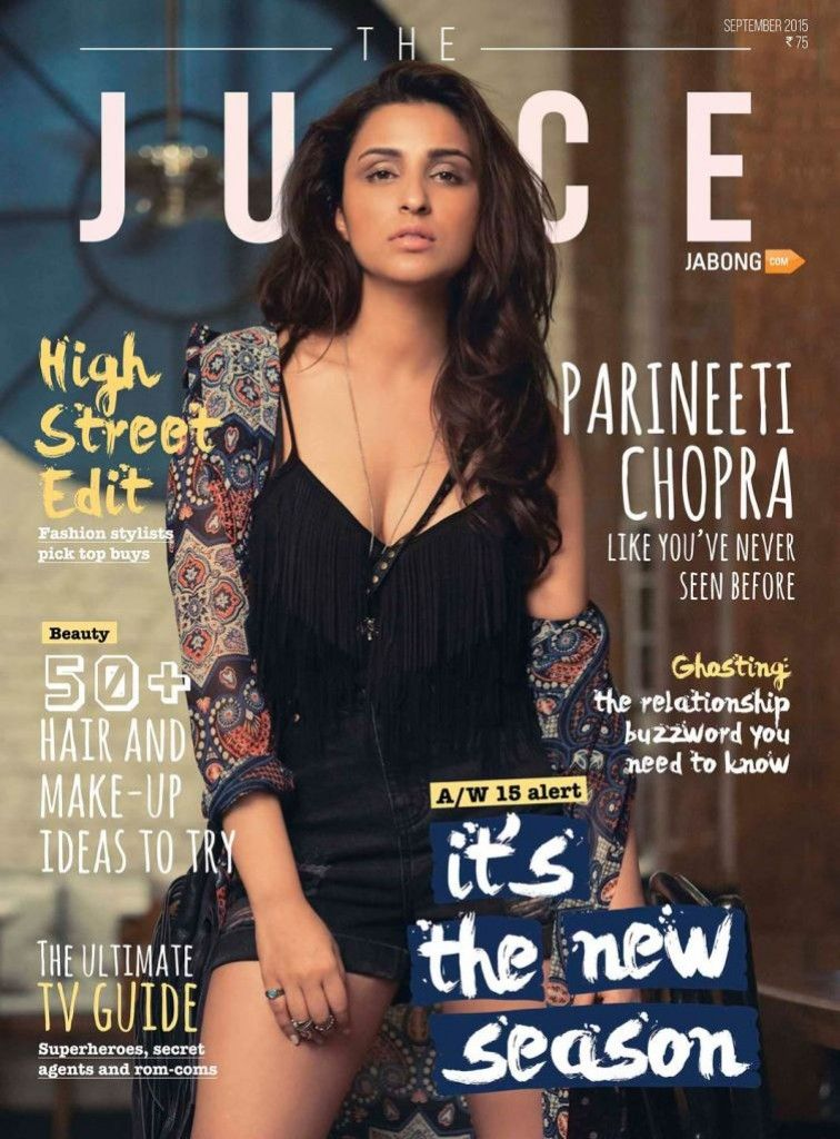 Parineeti Chopra Shoot For JUICE Magazine September