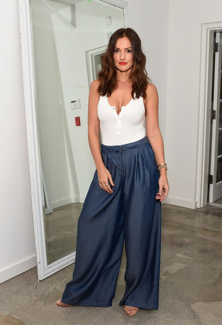 Minka Kelly - A List Anniversary Party in Beverly Hills