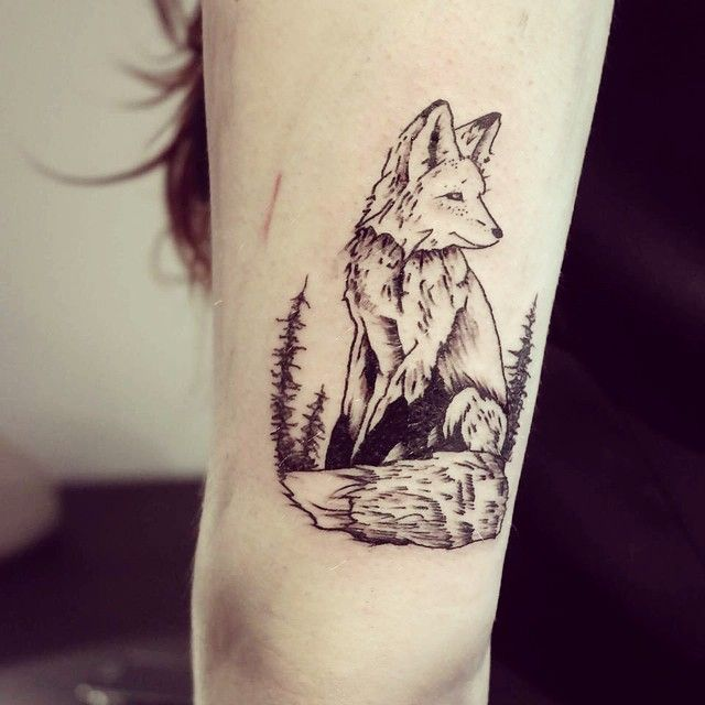 Wild Animal Spirits In Beautiful Tattoos