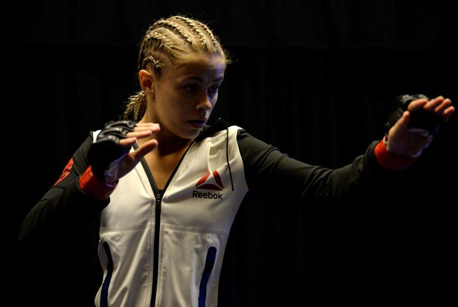 Paige VanZant - MGM Grand Garden Arena in Last Vegas