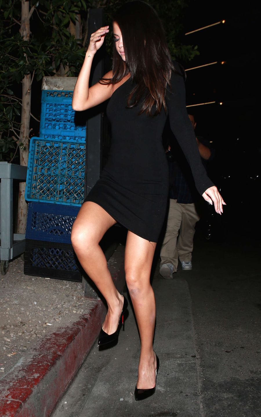 Selena Gomez at The Nice Guy in Beverly Hills