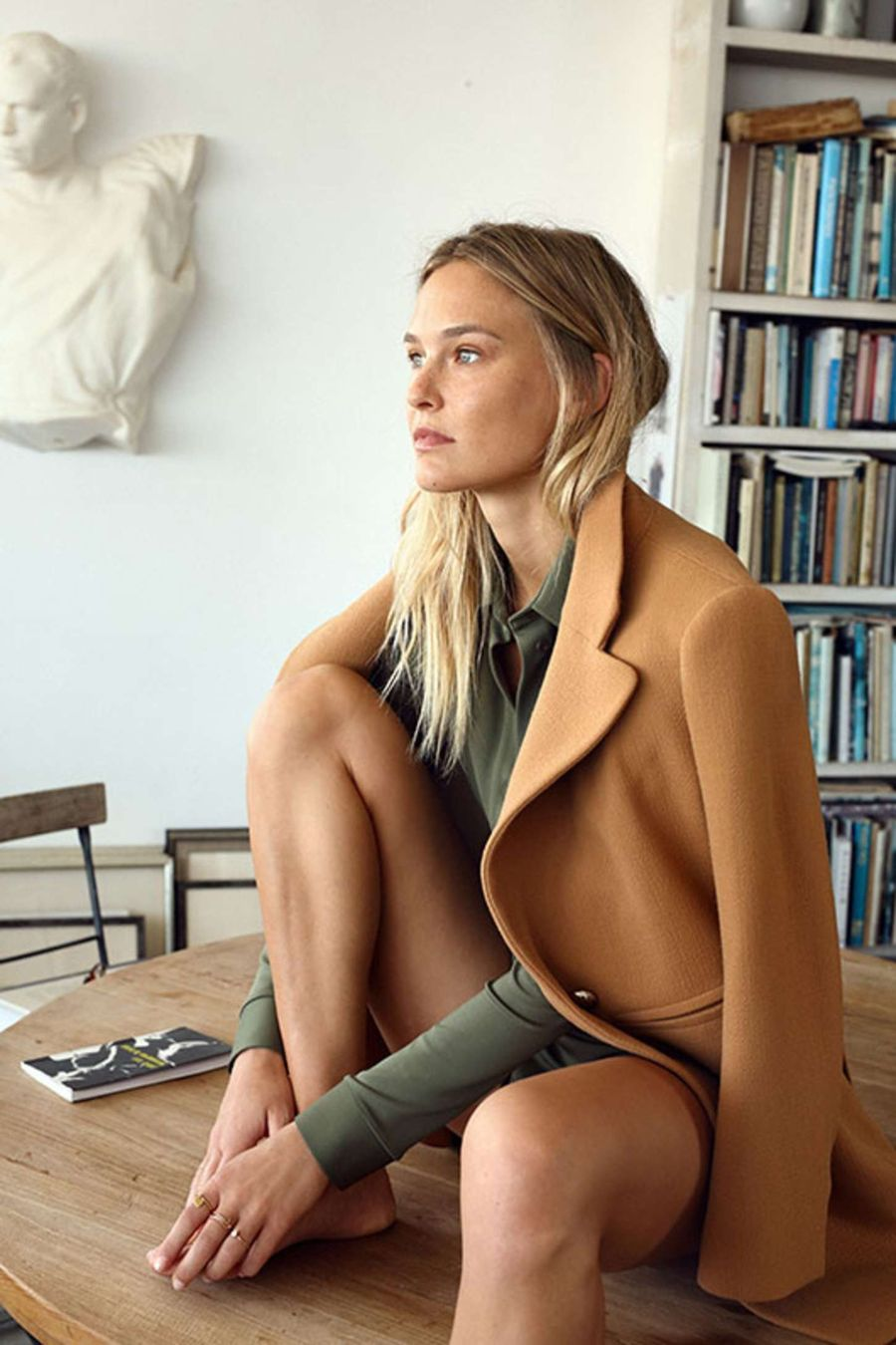 Top Model Bar Refaeli - At Magazine (Sep 2015)