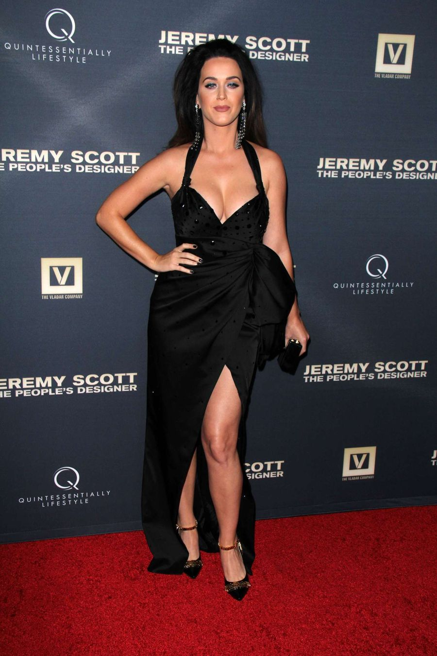 Katy Perry @ Jeremy Scott The People's Designer Premiere