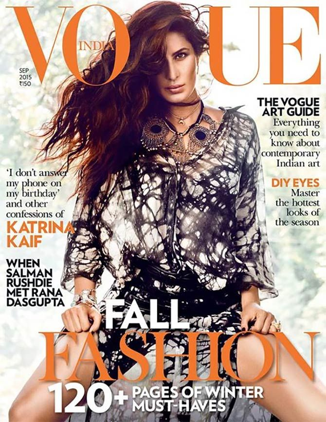 Who is the hottest September cover girl?