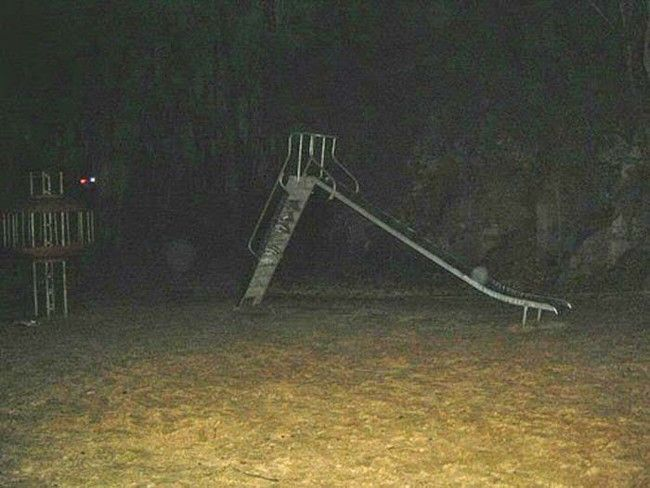 Playground Near Cemetery Harbors A Dark Secret