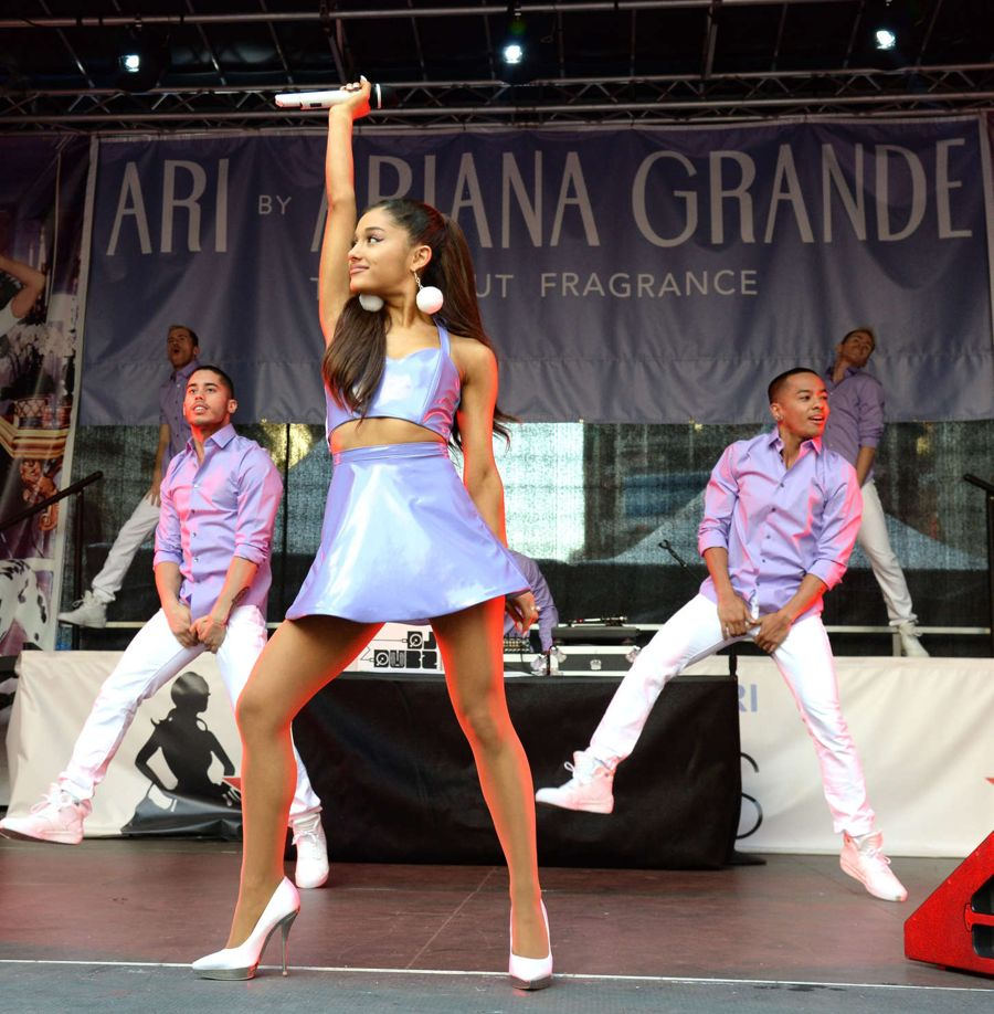 Ariana Grande - 'Ari' Fragrance Launch & Concert in NYC