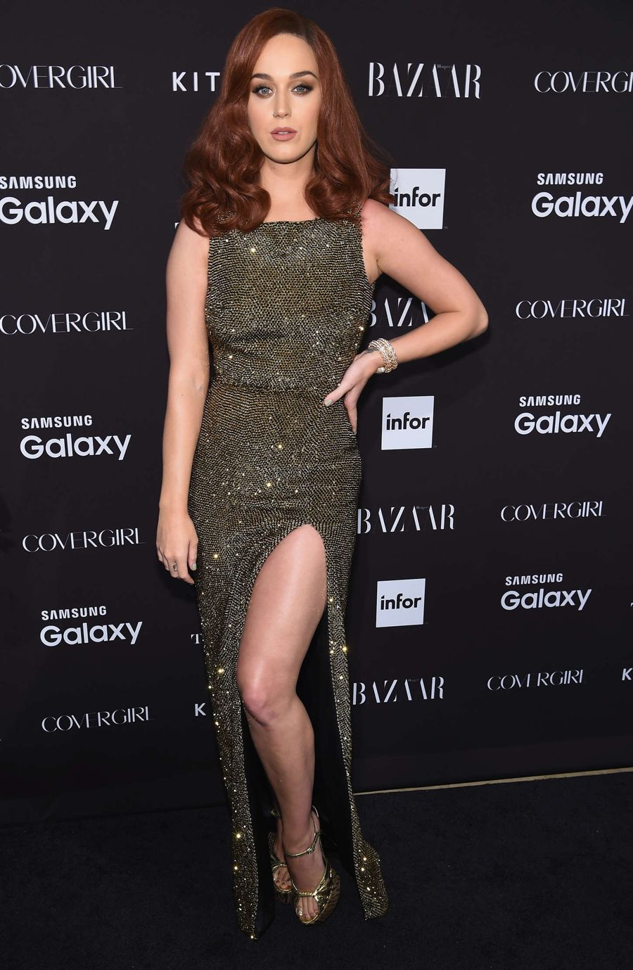 Katy Perry - Harpers Bazaar ICONS Event in NY