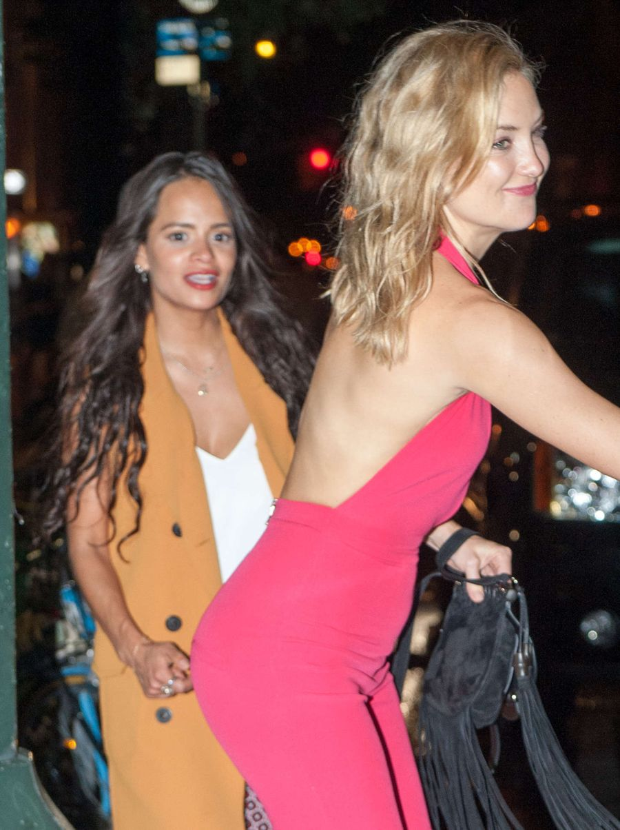 Kate Hudson - Leaving a nighclub in New York City