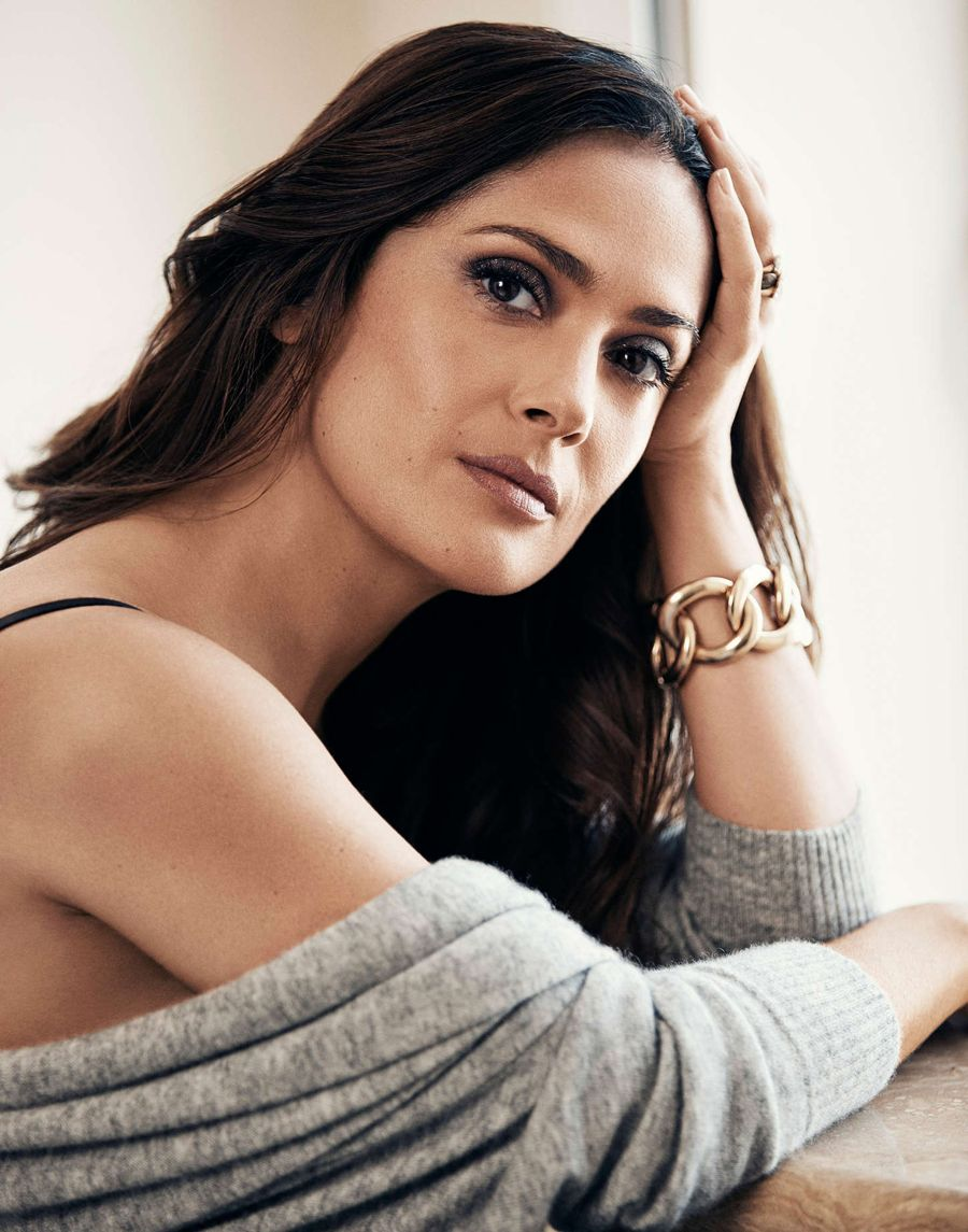 Salma Hayek - Evening Standard Photoshoot (Sep 2015)