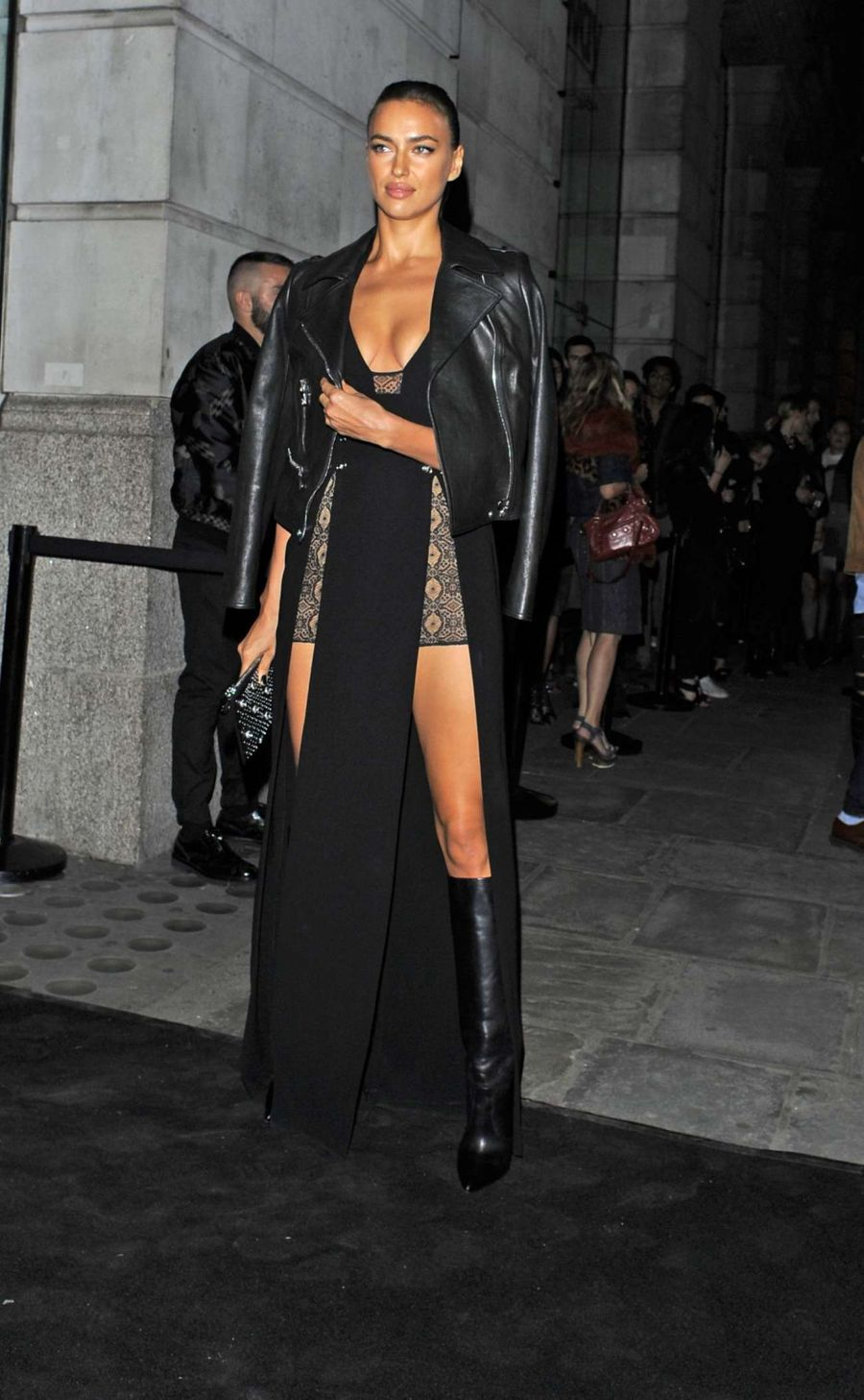 Irina Shayk - Versus By Versace Fashion Show in London