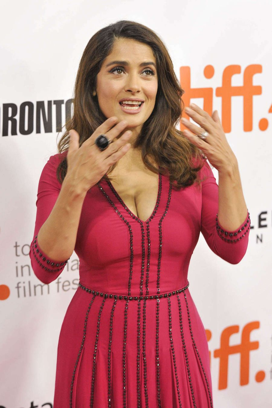 Salma Hayek - 'Septembers of Shiraz' Premiere